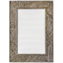 "Uttermost Fortuo Wood 32"" x 44"" Rectangle Wall Mirror"