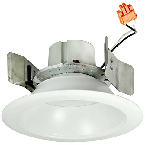 "5"" Nora 16.6 Watt 2700K LED Retrofit Reflector Trim in White"