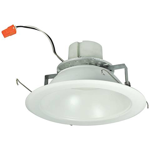 "6"" Nora 16.6 Watt 3000K LED Reflector Retrofit Trim in White"