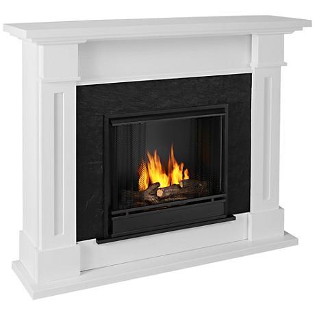 Real Flame Kipling Gel Fireplace White