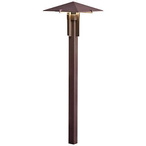 "Kichler 26 1/2"" High 2700K LED Bronze Pyramid Path Light"