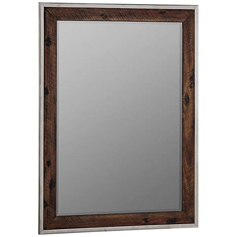 "Cooper Classics Clovis 29 1/2"" x 40 1/2"" Wall Mirror"