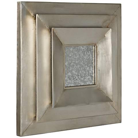 "Cooper Classics Metal Harper 20"" Square Wall Mirror"