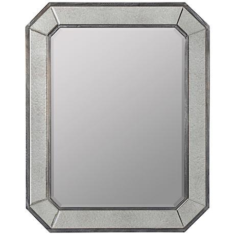 """Cooper Classics Donato 31 3/4"""" x 39"""" Antiqued Mirror"""