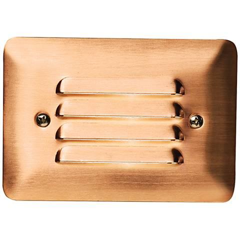 "Kichler Landscape 5""W Copper 3000K LED Mini Step Light"