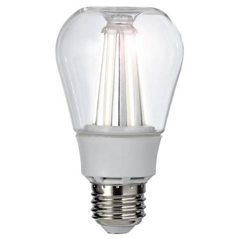 40W Equivalent Clear 8W LED Dimmable Standard Apple Bulb