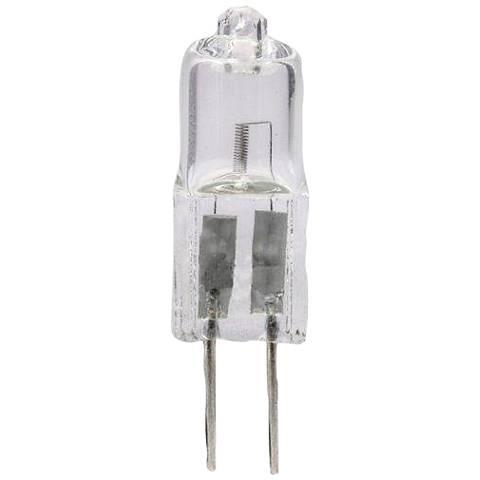 Clear 10 Watt G4 12 Volt Halogen Bulb