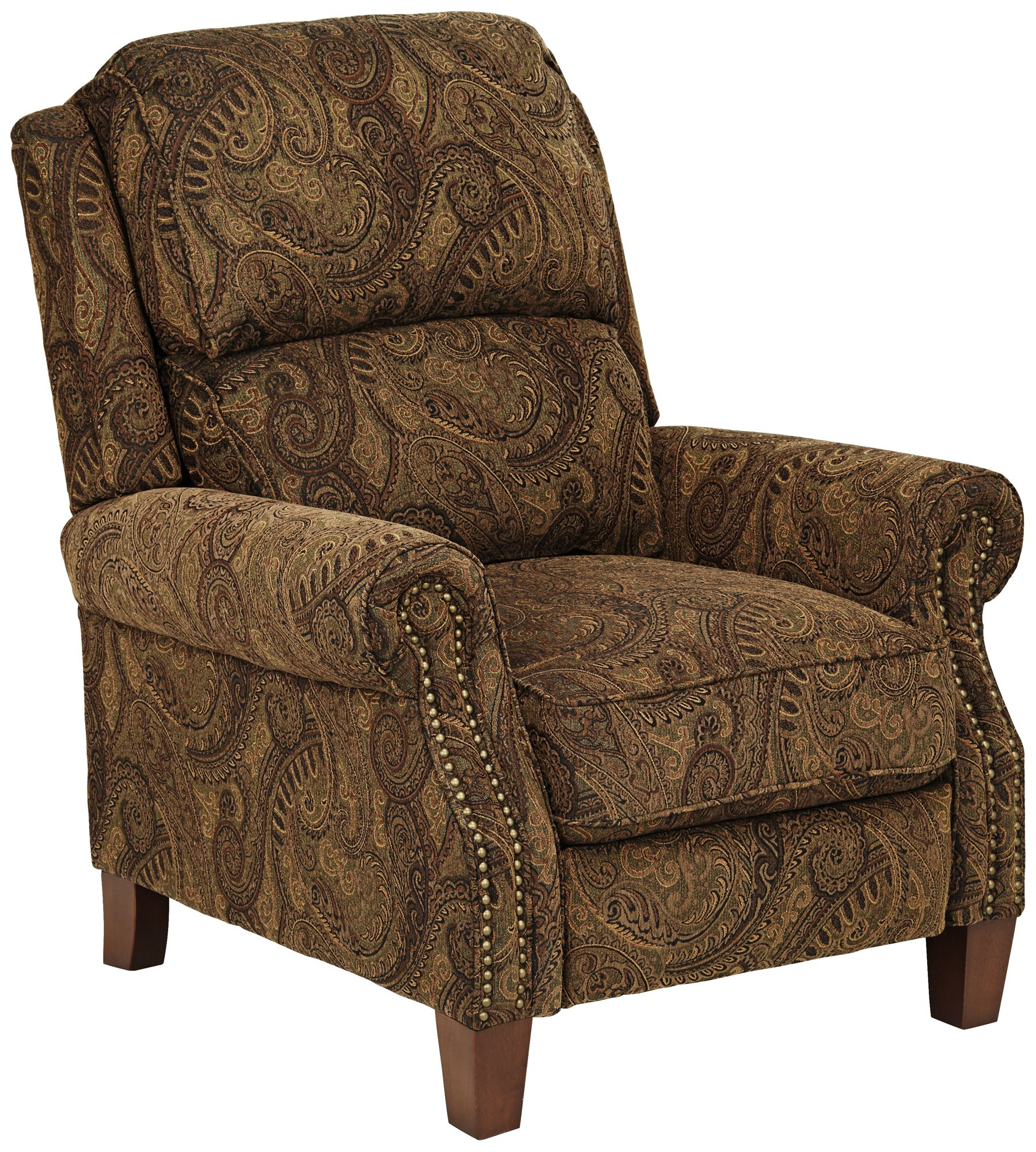 Beaumont Warm Brown Paisley Push-Thru Arm 3-Way Recliner  sc 1 st  L&s Plus & Recliners - New Recliner Chairs | Lamps Plus islam-shia.org