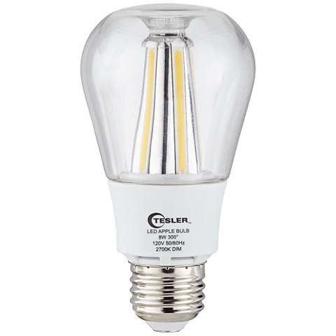 60 Watt Equivalent Clear 8 Watt LED Dimmable Standard Bulb