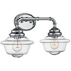 """Savoy House Fairfield 20"""" Wide 2-Light Chrome Bath Light"""