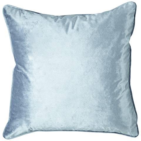 """Tessa Quartz Velvet 18"""" Square Decorative Pillow"""