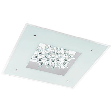 "Eglo Benalua 22 1/2"" Wide Crystal LED Ceiling Light"