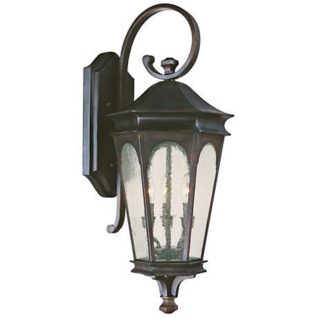 """Capital Inman Park 32 1/2"""" High Bronze Outdoor Wall Light"""