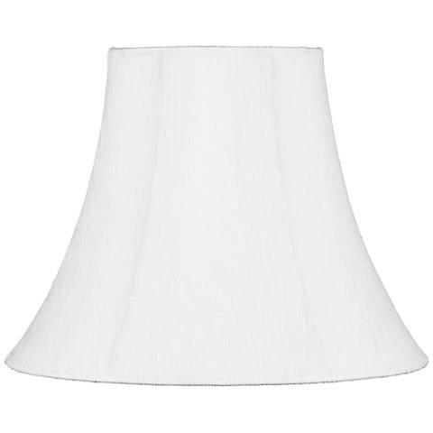 Cream Bell Lamp Shade 7x14x11 (Uno)