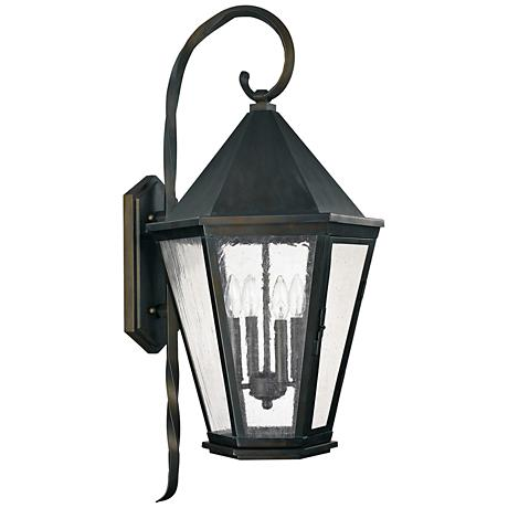 "Capital Spencer 35 1/2""H Old Bronze Outdoor Wall Light"