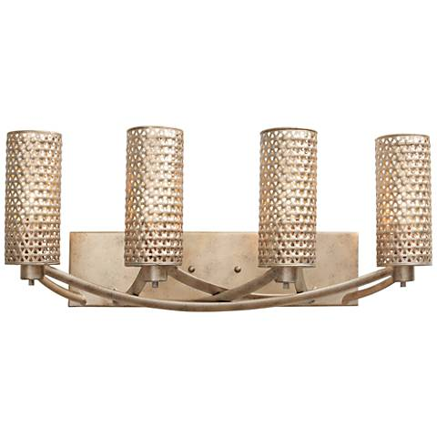 "Varaluz Casablanca 24"" Wide Zen Gold Bath Light"