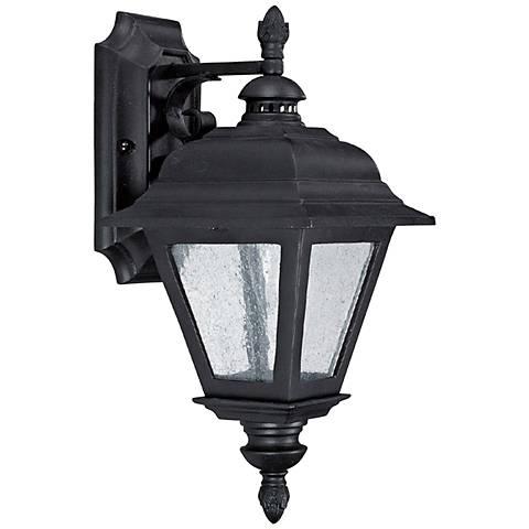 "Capital Brookwood 13 3/4"" High Black Outdoor Wall Light"