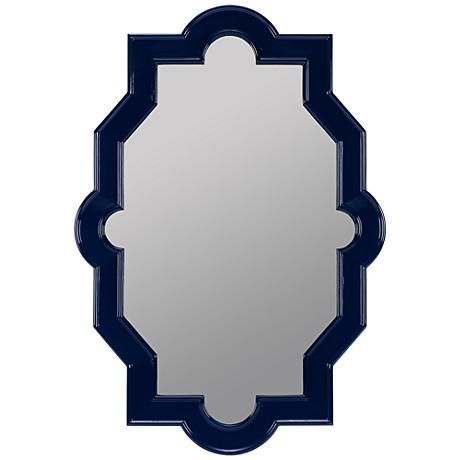 """Cooper Classics Trish 32""""x45"""" Cobalt Blue Mirror"""