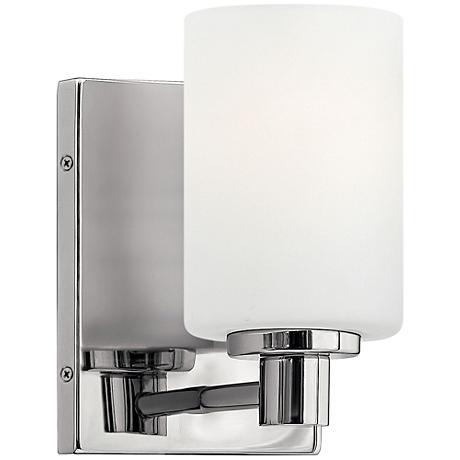 Chrome Cylinder Wall Lights : Hinkley Karlie 8 1/4