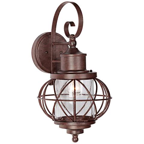 "Revere 21""H Aged Bronze Outdoor Wall Light"