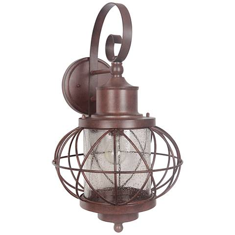 "Revere 23 1/4""H Aged Bronze Outdoor Wall Light"