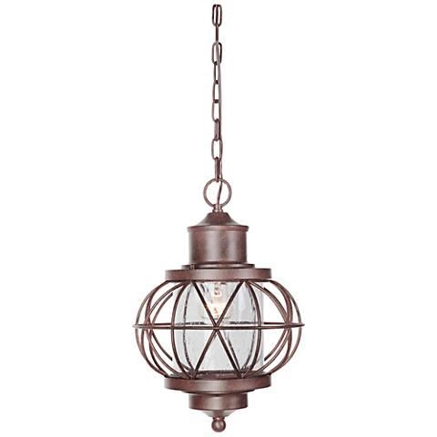 """Revere 16 1/2""""H Bronze Outdoor Hanging Light"""
