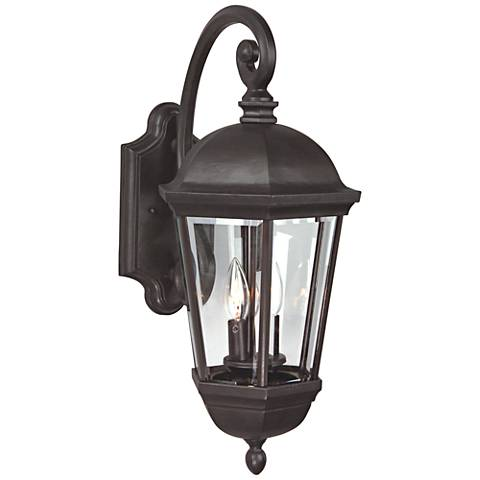 "Britannia 25 3/4""H Bronze Outdoor Wall Light"