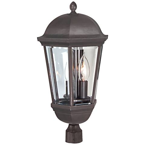 "Britannia 19 3/4""H Bronze Outdoor Post Light"