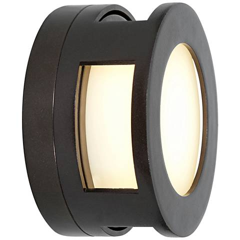 "Nymph 6 1/2"" High Bronze LED Outdoor Wall Light"