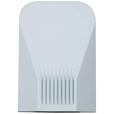 """Slant 9"""" High White LED Outdoor Wall Light"""