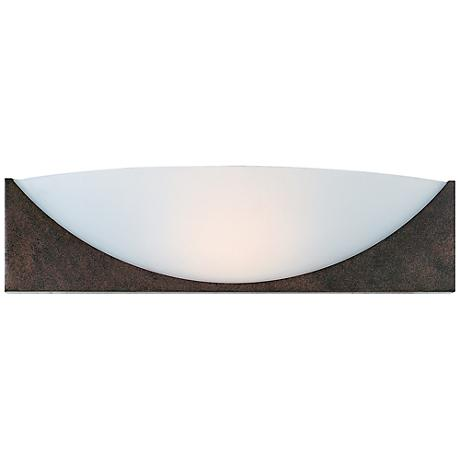 """Thebes 4"""" High Rust Wall Sconce"""