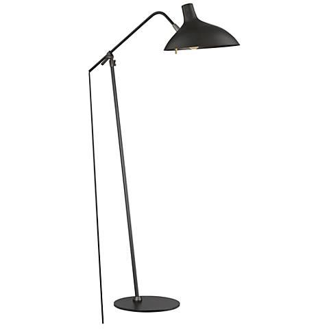 Quoizel Westway Black Patina Adjustable Task Floor Lamp