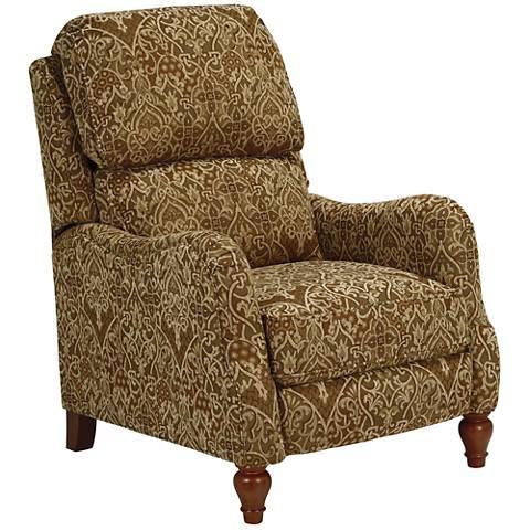 Farrah Pheasant Fabric 3-Way Recliner Chair