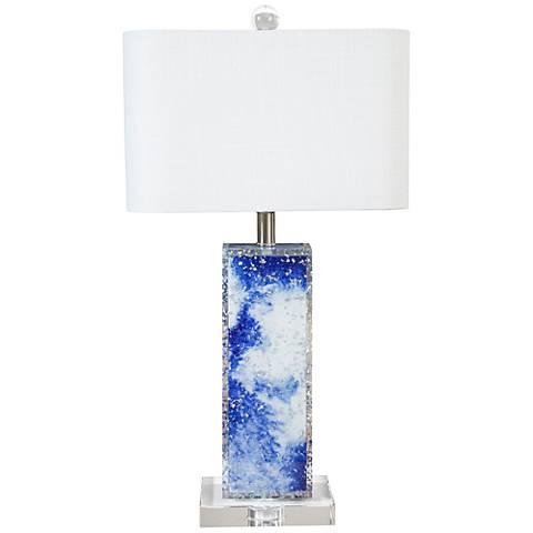 Couture Carmel Crashing Waves Table Lamp