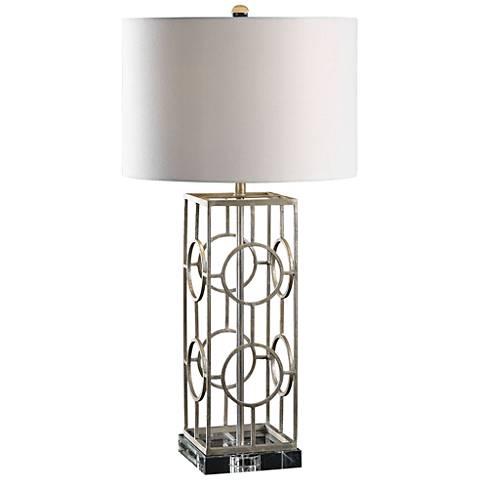 Uttermost Mezen Iron Table Lamp
