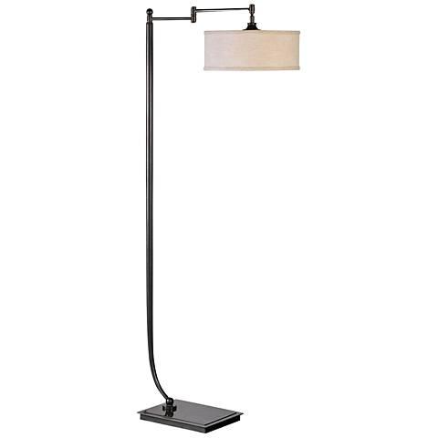 Uttermost Lamine Metal Floor Lamp