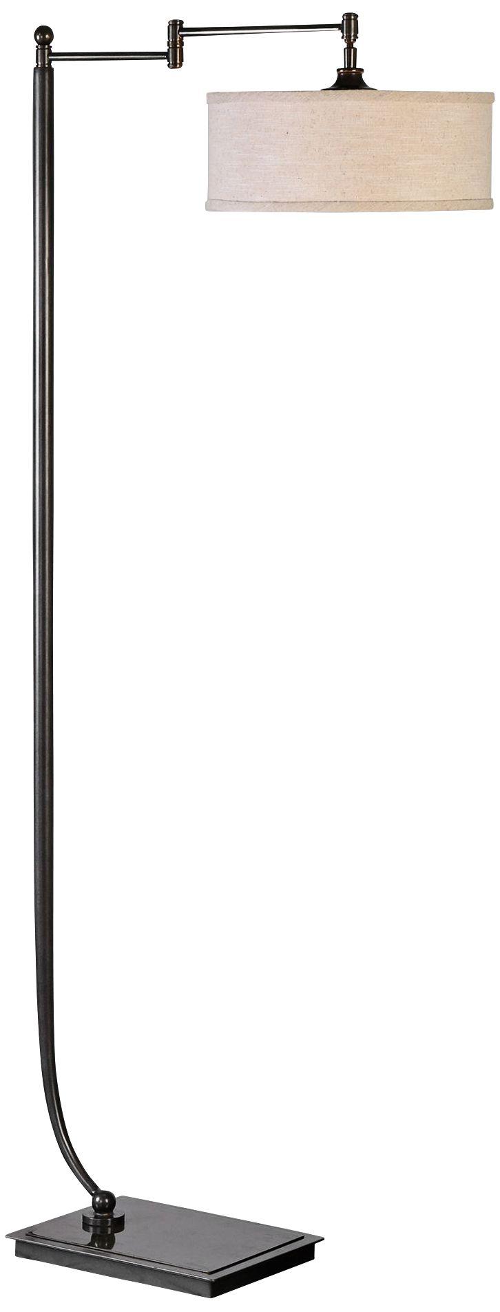 Captivating Uttermost Lamine Metal Floor Lamp