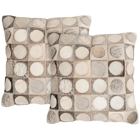 "Safavieh Brigitte 18"" Square Decorative Pillow Set of 2"