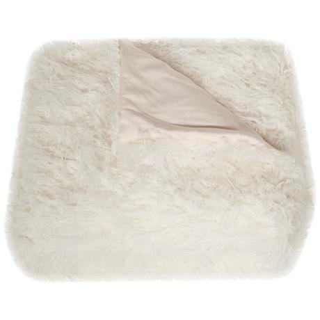 Safavieh Snow White Cuddle Throw Blanket