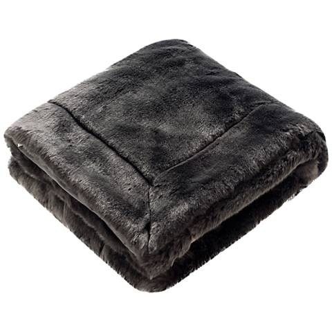 Safavieh Faux Silver Fox Throw Blanket