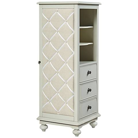 Inspirations Dreamer Morning Mist Swivel 3-Drawer Chest