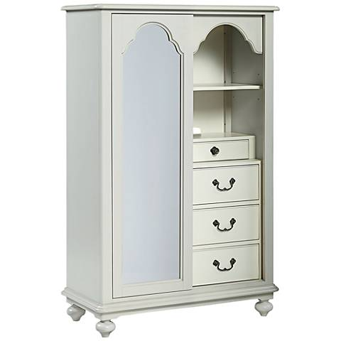 Signature Morning Mist Lighted 4-Drawer Dressing Chest