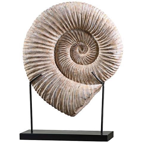 """Uttermost Kaleho 24 3/4"""" High Ivory Shell Sculpture"""