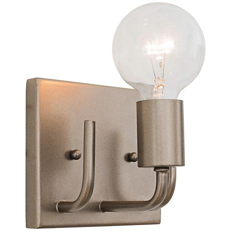 "Varaluz Socket-To-Me 5 3/4"" Wide New Bronze Bath Light"
