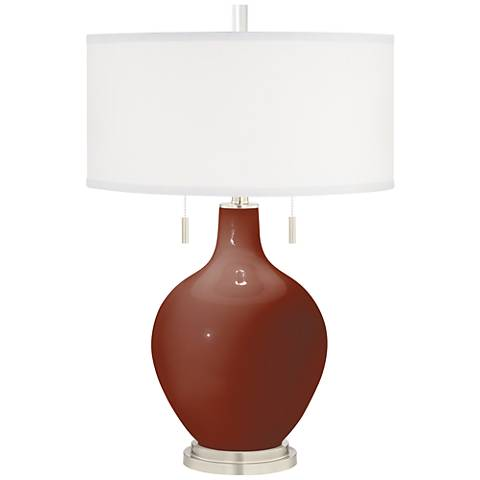 Fired Brick Toby Table Lamp