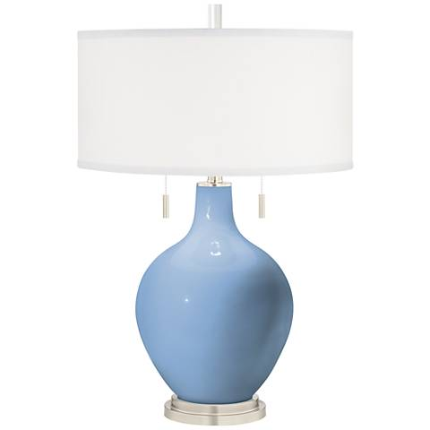Placid Blue Toby Table Lamp