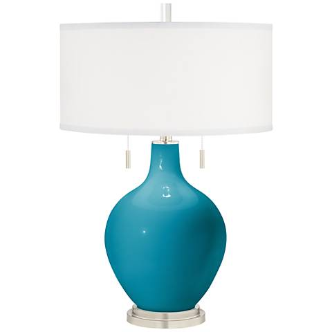 Caribbean Sea Toby Table Lamp