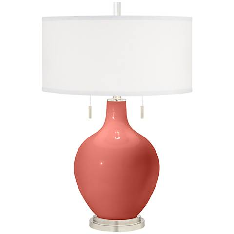 Coral Reef Toby Table Lamp