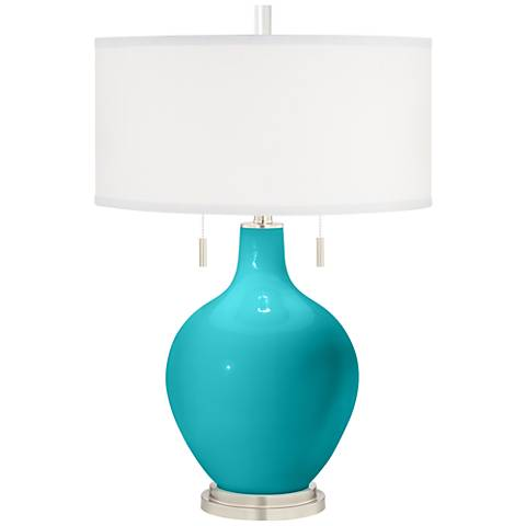 Surfer Blue Toby Table Lamp