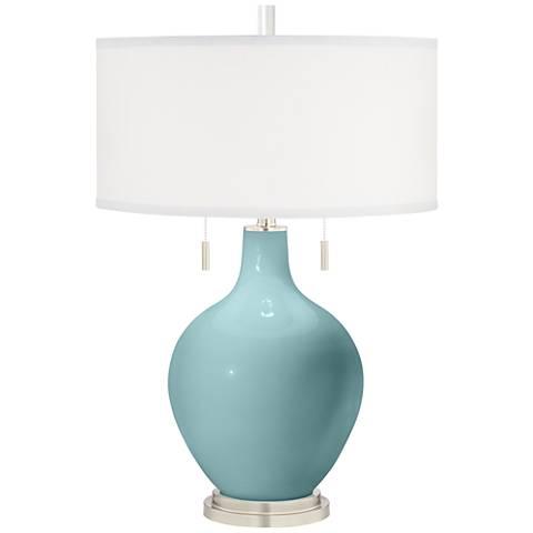 Raindrop Toby Table Lamp
